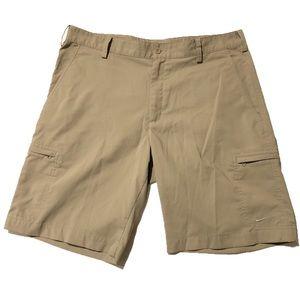 Nike Flex Golf Shorts Cargo Khaki I